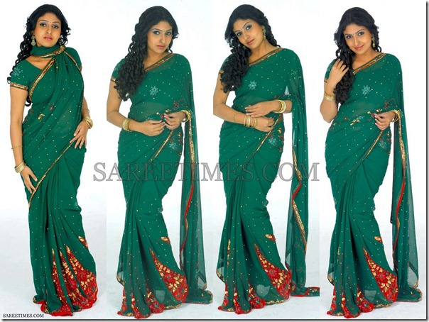 Monica_Green_Embroidery_Saree