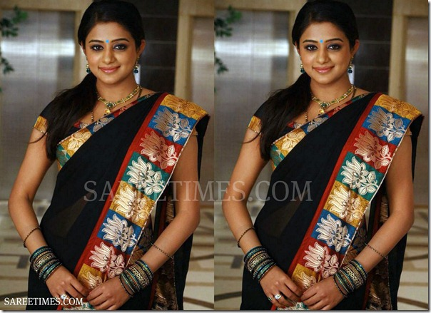 Priyamani_Black_Saree