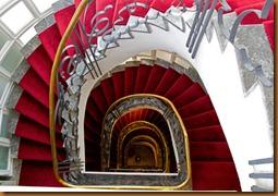 Casablanca, hotel stair