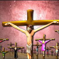 XII Estação Jesus morre na Cruz