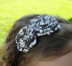 Brown & Off White Headband