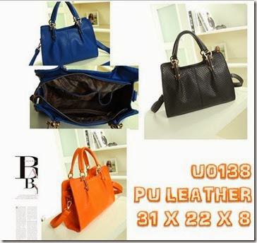 U0138 (237.000) - PU LEATHER, 31 X 22 X 8
