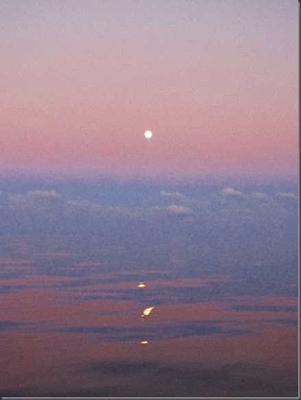 sunset open ocean circumnavigating by sailboat 4