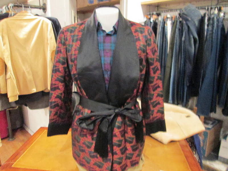 Sulka Smoking Jacket