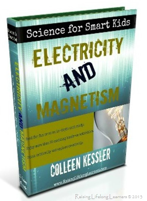 New eBook available now! Science for Smart Kids: Electricity and Magnetism via www.RaisingLifelongLearners.com
