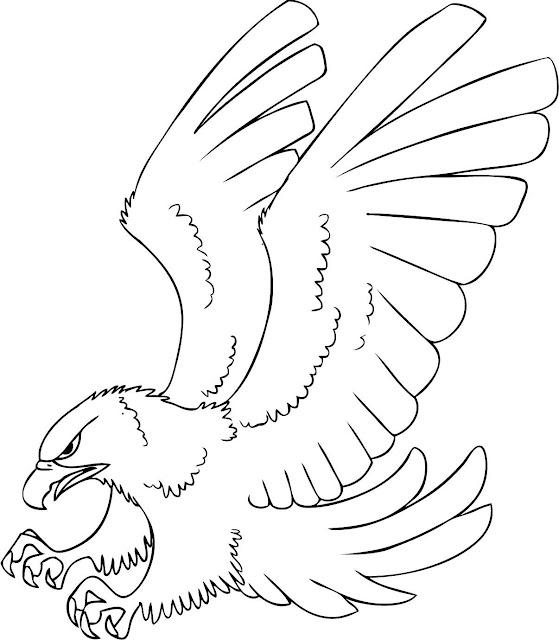 Contemporáneo águilas Para Colorear Inspiración - Ideas Para ...