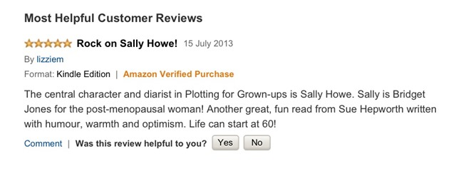 first five star review on amazon