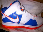 hardwood lebron8 white 02 First Look at Nike LeBron X Low   Cavs Hardwood Classic?!