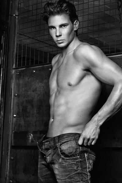 Rafael Nadal by Steven Klein for Armani Jeans F/W 2011 campaign | www.Armani.com