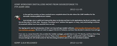 Gimp SourceForge