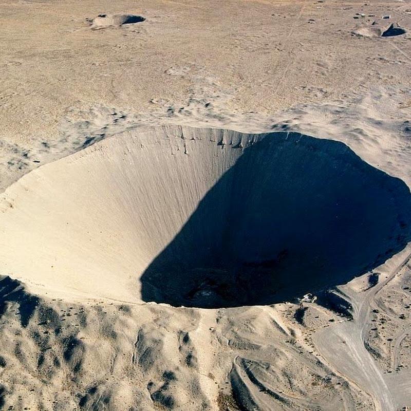 Sedan Nuclear Crater