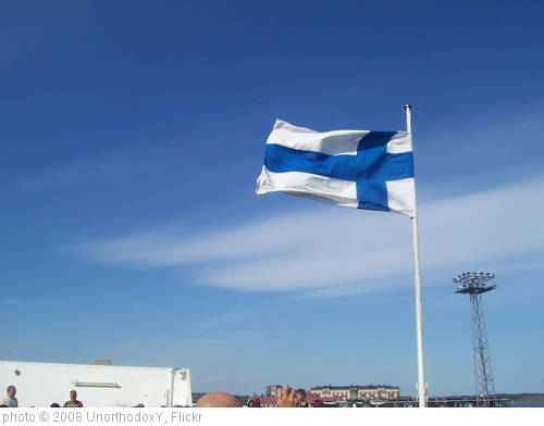 'Finland Flag' photo (c) 2008, UnorthodoxY - license: http://creativecommons.org/licenses/by-sa/2.0/