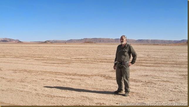 Enrique cerca del El Mharech