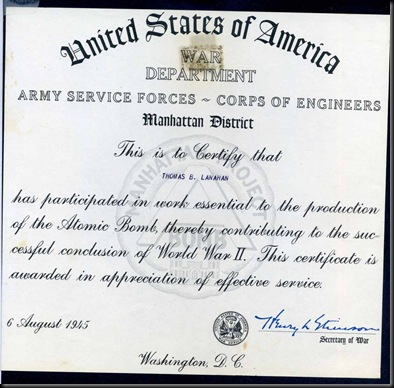 Lo-Manhattan Project-Cert