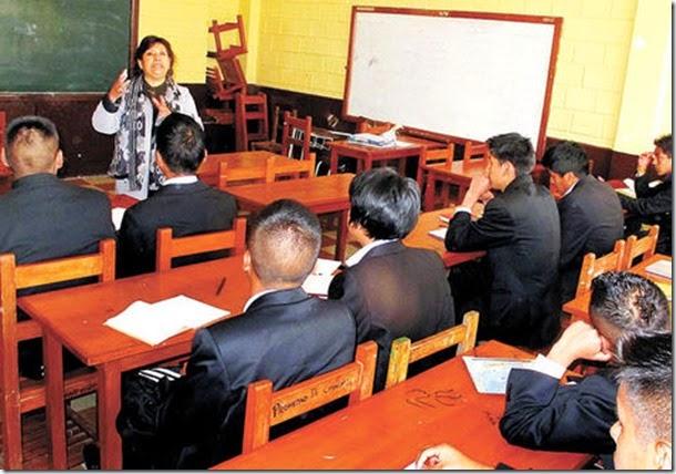 Banco Mundial sitúa a Bolivia entre los 10 países del mundo que más invierten en educación