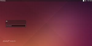nuova lockscreen di Ubuntu 14.04 Trusty