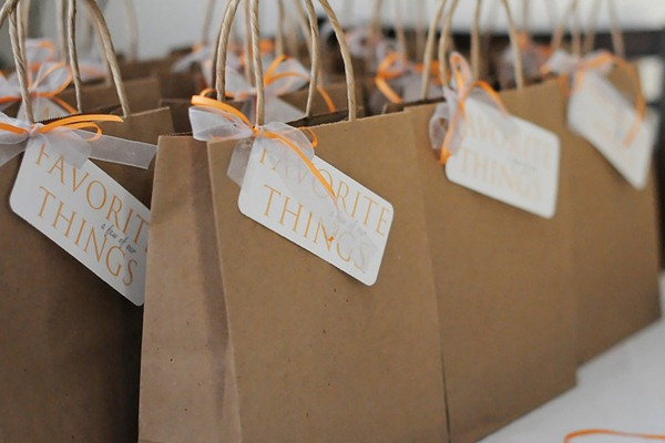 favorite things party bags