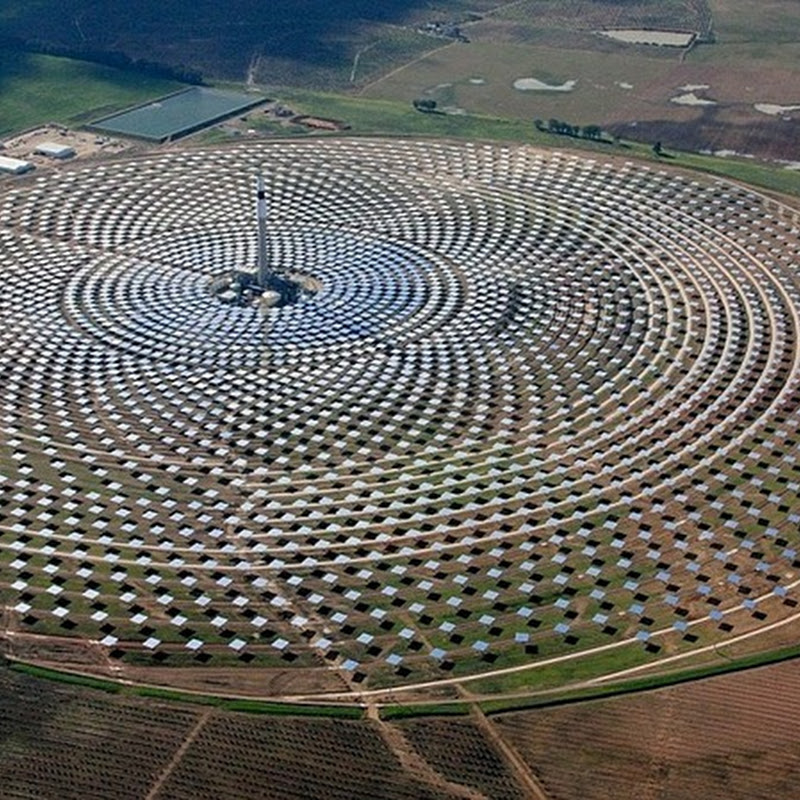 World's First Solar Plant That Generates Power at Night Opens in Spain