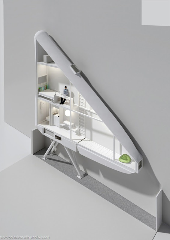 casa-apartamento-mais-estreito-do-mundo-polonia-keret-house-desbaratinando (8)