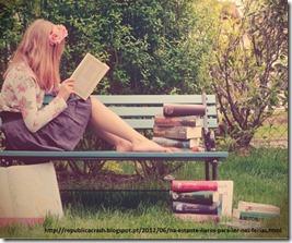 ler nas férias