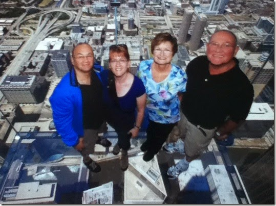 Willis Tower 25 - Skydeck Ledge - Frank Simone Barb Larry