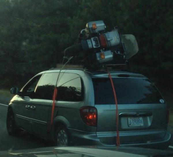 Eu acho que você esta usando o veículo errado 16