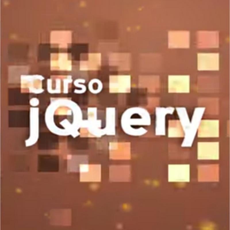 Curso de jQuery, todos los tutoriales del curso