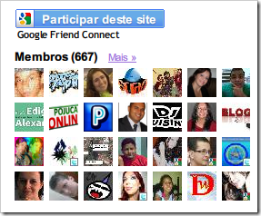 Widget de seguidores