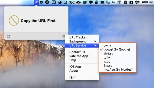 Mac app utilities url shortener7