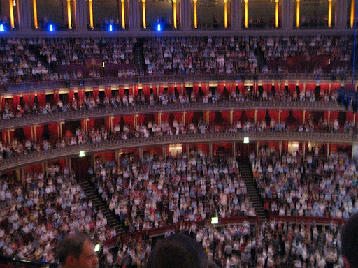 Royal Albert Hall crowd at the