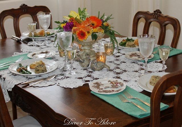 Elegant dinner for 8 122-001