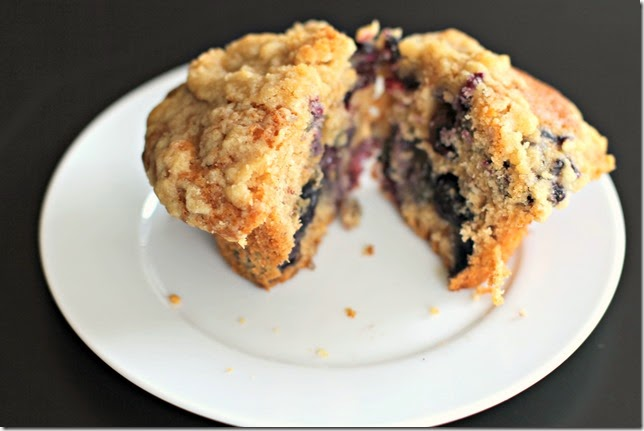 Blueberry Banana Muffins3
