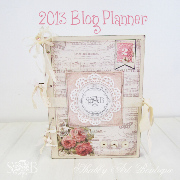Shabby Art Boutique - Blog Planner 8