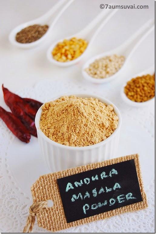 Andhra masala powder pic 2