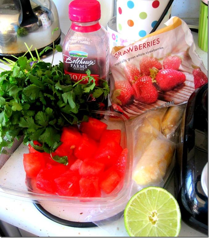 cilantro smoothie 8