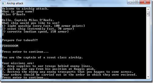 Airchip Attack screenshot