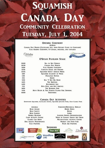 Squamish Canada Day Community Celebration