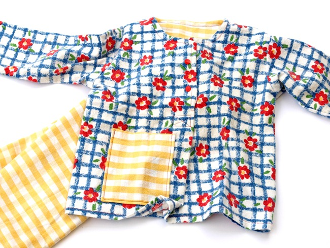 sunny refashioned PJs