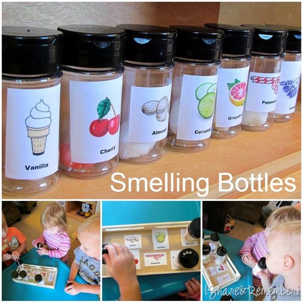 Smelling Sensory Bottles