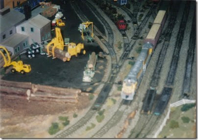 06 LK&R Layout at GATS in Portland, Oregon in October 1998