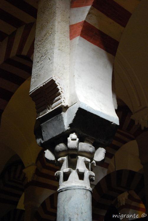 capitel - mezquita de córdoba