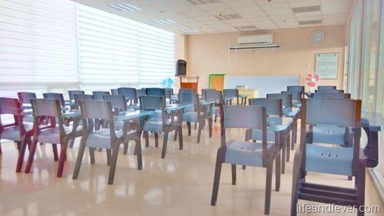 De La Salle Medicine classroom
