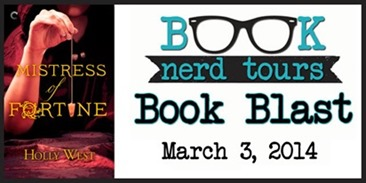 {Giveaway} Mistress of Fortune by Holly West
