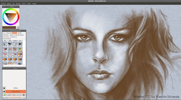 Mypaint Free And Open Source Alternative To Corel Painter