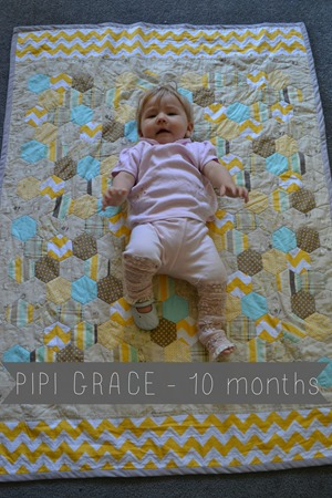 Pipi Grace 10 months