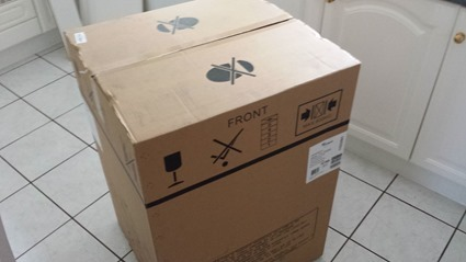 Sooo much cardboard!