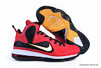 lbj9 fake colorway miamiheat 1 01 Fake LeBron 9