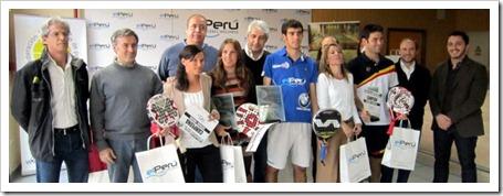Finalizó la XVII edición del Campeonato de Extremadura de Pádel 2012.