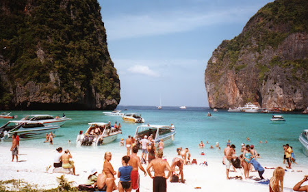 Obiective turistice Thailanda: Maya Bay Phi Phi