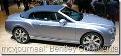 2012 Autosalon Geneve - Bentley Continental GTC V8